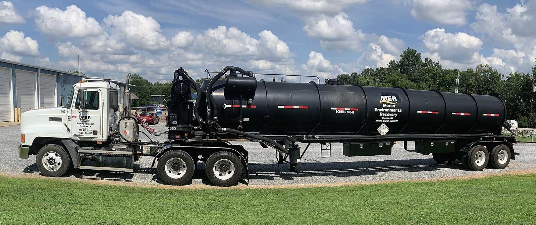 MER tanker truck