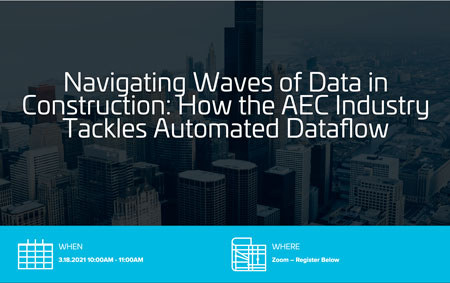 Navigating Waves of Data in Construction: How the AEC Industry Tackles Automated Dataflow